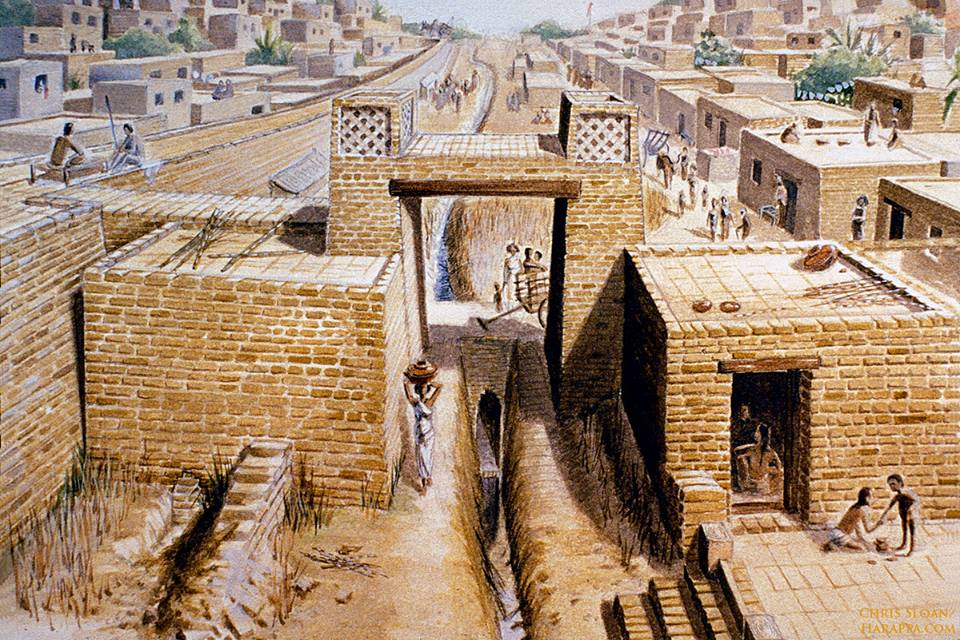 ricostruzione di Harappa