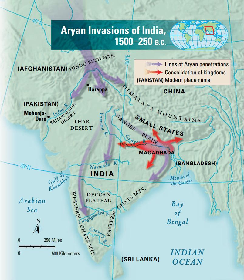 invasioni degli Arii
